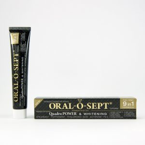 ORAL-O-SEPT zubní pasta Quadro POWER & WHITENING