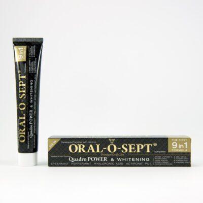 ORAL-O-SEPT zubní pasta Quadro POWER & WHITENING